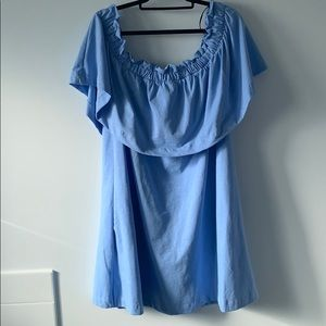 H&M Off-the-Shoulder Mini Dress